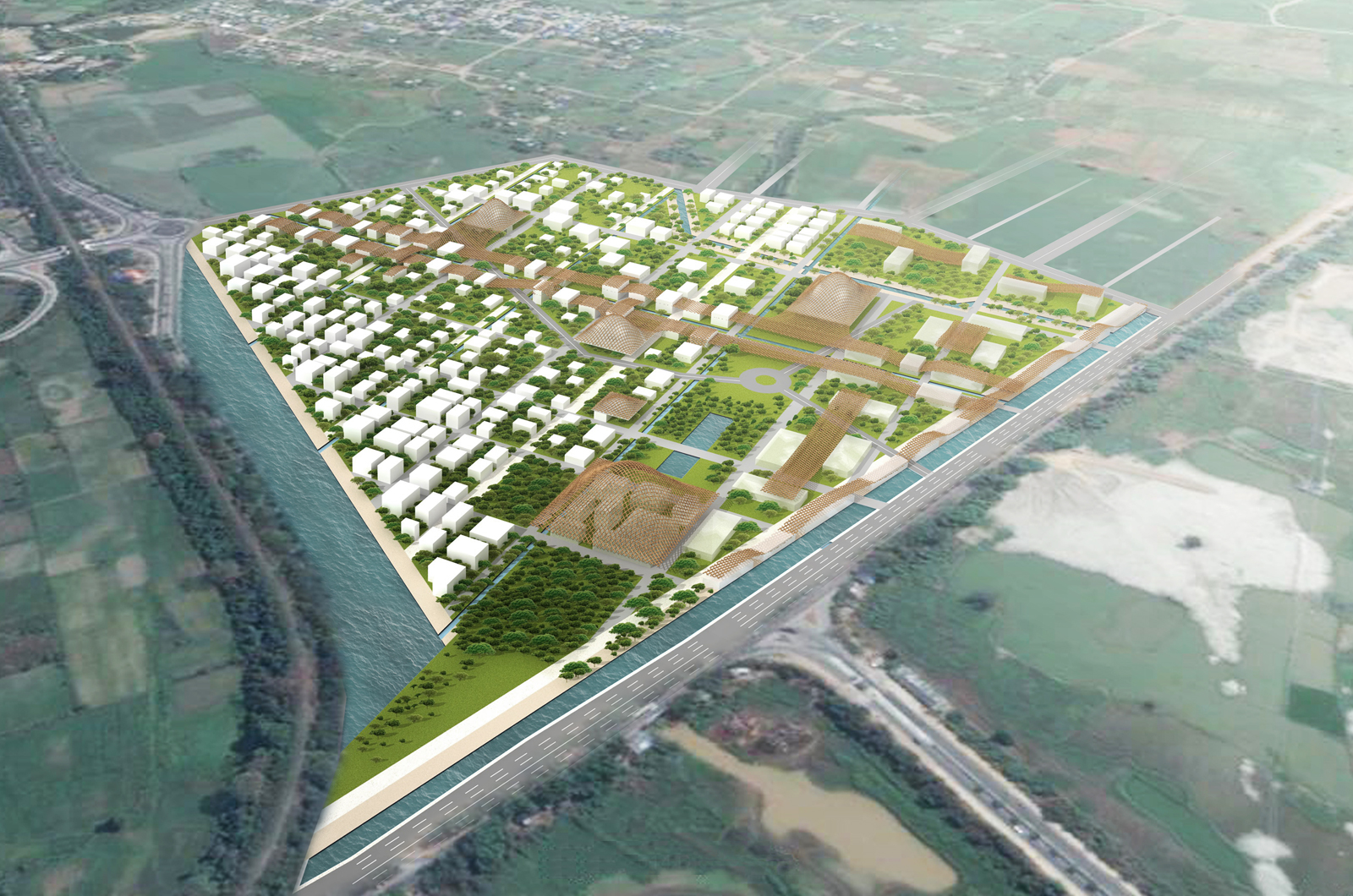 Mandalay Water City Project